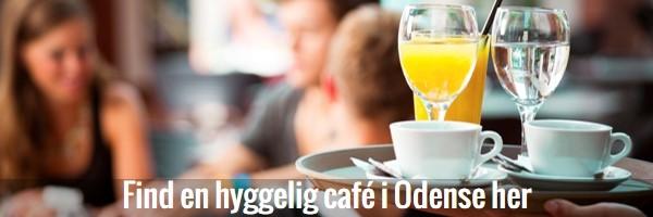 Knap til caféer i Odense