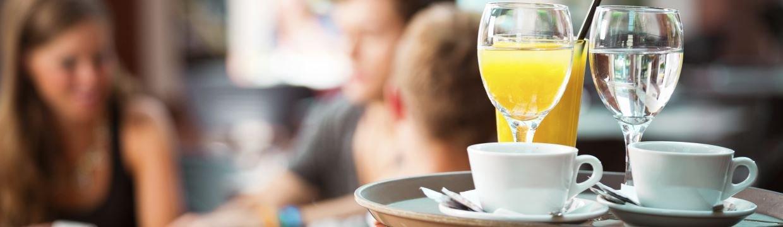 Find en dejlig og hyggelig café i Odense her - friskbrygget kaffe, sandwich og meget andet